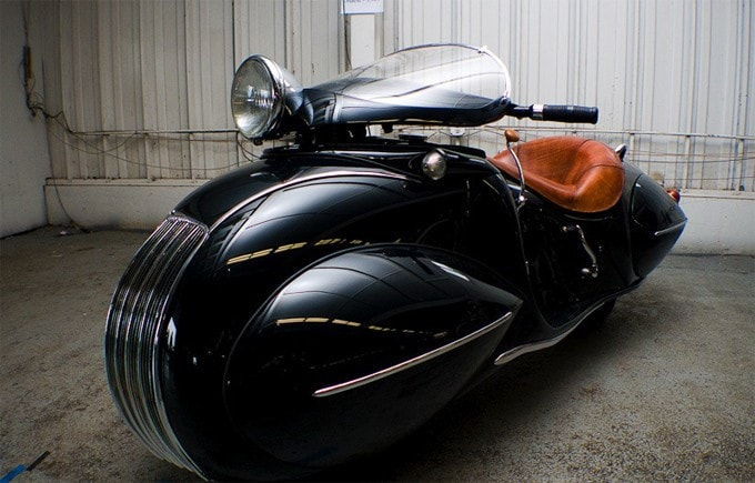 Art Deco Henderson Bike